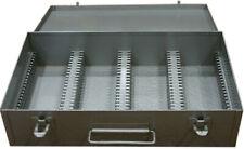 Brumberger Metal Slide File #1100 for Medium Format: Holds 100 6cm X 6cm Slides