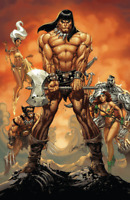 Conan the Barbarian #1 J Scott Campbell Virgin Variant (Marvel 2019)