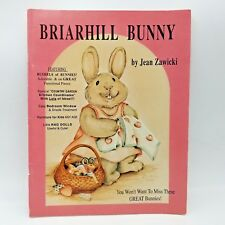 Briarhill Bunny by Jean Zawicki 1991 Tole Painting Instruction Book Volume 19