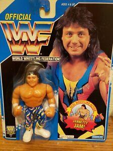 WWF Hasbro Marty Jannetty Blue Card Series 10 RARE vintage MOC 1993 WWE