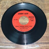 Johnny Cash Sunday Morning Coming  Down/I'm Gonna Try To Be That Way Columbia 45