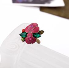 BETSEY JOHNSON Exquisite Cute Retro rose flowers ring BJ N316