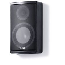 Canton Ergo 610 Slim Bookshelf Speakers Black Their Best $1399 July Sale $560