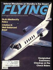 Flying Magazine December 1980 Citation II BizJet EX w/ML 112916jhe