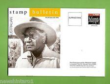 #D218. 2002 Stamp Bulletin Featuring Albert Namatjira On Cover