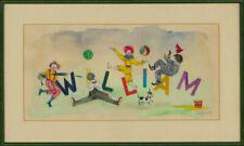 Dealer or Reseller Listed Illustration Art Animation Art Drawings