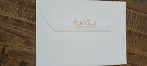 1950'S VINTAGE ORIGINAL WALT DISNEY BURBANK CALIFORNIA GREETING CARD ENVELOPE