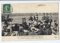 DENMARK Old postcard VISIT OF THE SOVEREIGN DANISH TO PARIS YEAR 1914
