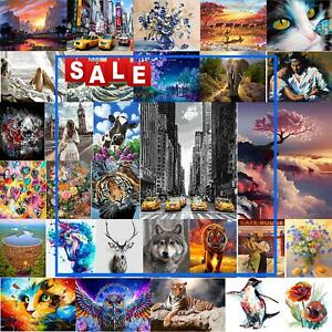 Hand Painted Canvas Oil Art Picture Craft Home Wall Decor Painting By Numbers