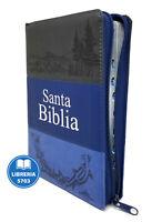 BIBLIA LETRA GRANDE REINA VALERA 1960 MAXI CONCORDANCIA AZUL CON CIERRE E INDICE