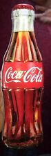 "Coca Cola Coke Bottle Shape Bank 13"" Tin Metal Coke"