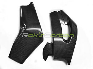 Carbon swingarm covers with guard Schwingenschoner Yamaha YZF-R6 2006-2007