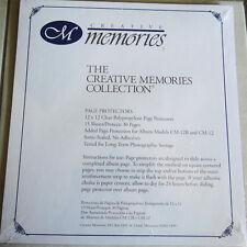Creative memories Scrapbook 12 x 12 Page Protectors BNIP