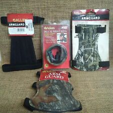 Lot of (4) Archery Supplies - Arm Guards - Wrist Sling - In retail packaging