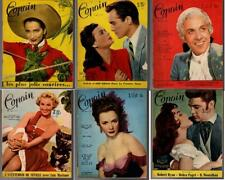 MON COPAIN French Movie Magazine 6 issues 1953-1954