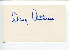 Doug Atkins Chicago Bears Browns Tennessee Volunteer HOF Signed Autograph
