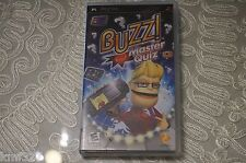 Buzz Master Quiz (PSP), Excellent Sony PSP Video Games