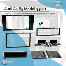 Connects2 CT24AU17 Audi A4 B5 with Symphony Car Stereo Fitting Facia