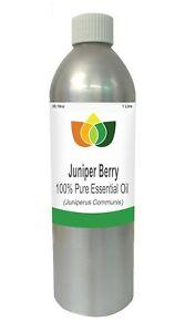 Juniper Berry Essential Oil Juniperus Communis 1 Litre - Aromatherapy