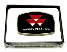 Massey Ferguson Belt Buckle AGCO Tractor Farming Spec Cast Officially Licensed