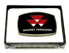 Massey Ferguson Belt Buckle AGCO Tractor Farming Spec Cast Officially Licensed