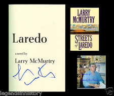 LARRY MCMURTRY Autographed Signed Book Streets Of Laredo