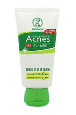 Rohto Mentholatum Acnes Creamy Wash 130g Japan import NEW