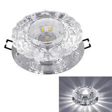 5W Modern LED Crystal Ceiling Chandelier Pendant Lamp Light Fixture XMAS Decor