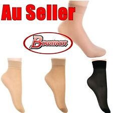 51a93bac8bb 12x Girl Women Lady Ultra-thin Short Silky Ankle High Fine Sock Stockings  Anklet
