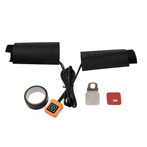 12V Heated Grips for Motorcycle Handlebar Heated Pad Electric Heated Grip Kit