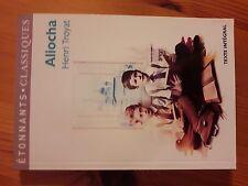 ALIOCHA D'HENRI TROYAT, étonnants classiques ,  (livre de poche) état neuve