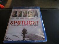 """BLU-RAY NEUF """"SPOTLIGHT"""" Mark RUFFALO, Michael KEATON, Rachel McADAMS"""