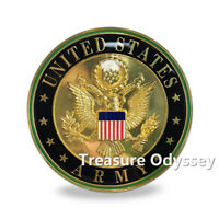 United States Army Seal Badge Car Bumper Decal Military Gift Auto Emblem Sticker