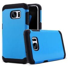 "Blue Armor Case for Samsung Galaxy S8 PLUS (6.2"") Shock Proof Back Cover"