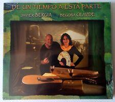 JAVIER BERGIA & BEGONA OLAVIDE - DE UN TIEMPO... -  CD 2014 - DIGIPAK - NEW