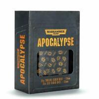Games Workshop Warhammer 40k Apocalypse Dice Set