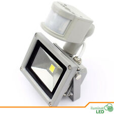 Led FloodLight Warm White 10W IP65 Outdoor DC 12V Waterproof - With PIR Sensor