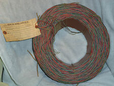 22 Gauge Cloth covered, 4-Wire Late 1950'S Wire.6000 Total Feet Of Wire