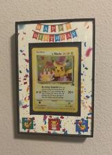 Framed Pokemon Card Display. Custom Single Frame(CARDS NOT INCLUDED/FRAMES ONLY)