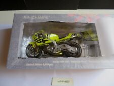 MINICHAMPS 1/12 Valentino Rossi 2001 Honda NSR 500 Pre-Season Test Bike *SEALED*