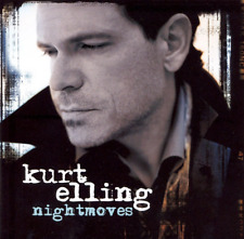 "KURT ELLING ""Nightmoves"" (CD 2007) 11-Tracks Chiccarelli ***EXCELLENT w/hole***"