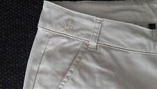 BENETTON pantaloni donna chino beige 40 cotone