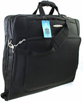 Large Travel Wardrobe Dress Garment Suit Carrier Case Suit bag Cover Bag Black