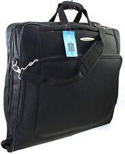 Large Travel Wardrobe Dress Garment Suit Carrier Case Suit bag Cover Bag Black