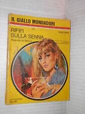 RIFIFI SULLA SENNA Auguste le Breton 1967 Il giallo Mondadori 972 libro storia