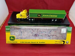 John Deere 1:64 Precision Kenworth Semi Truck & Trailer Gearbox #13125 in box
