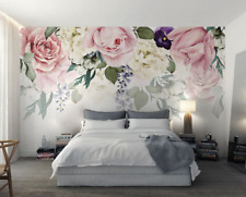 3D Beautiful Flowers 8 Wall Paper Murals Wall Print Wall Wallpaper Mural AU Kyra
