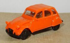 MICRO HERPA HO 1/87 CITROEN 2CV 6 ORANGE no BOX