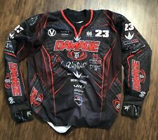 Dye Paintball Jersey Red Large Tampa Bay Damage Dan Holiday Never Worn