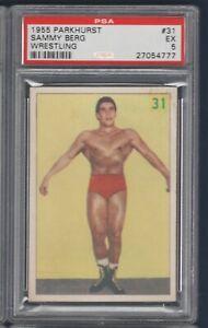 SAMMY BERG 1955 PARKHURST 55 NO 31 PSA 5  36580